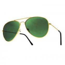 Okulary pilotki AVIATOR - zielone szkła