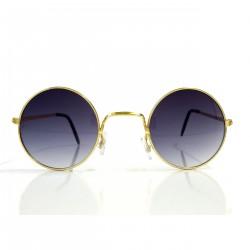 Okulary okrągłe LENONKI - złote