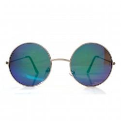 Okulary okrągłe LENONKI lustrzanki REVO