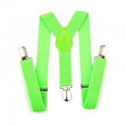 Szelki do spodni CLASSIC 2,5 cm - ZIELONE