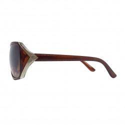 Okulary lenonki owalne KOST ROUND - czarne